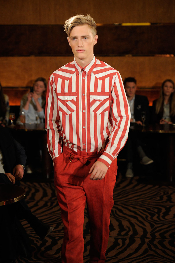 SS13 London Joseph Abboud002_Victor Nylander(fashionising.com)