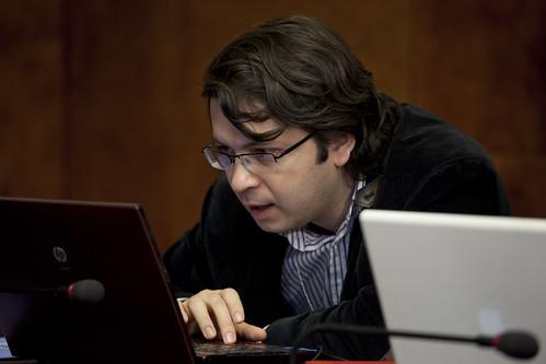 Emin Milli at Internet Freedom Fellows Press Conference at UN