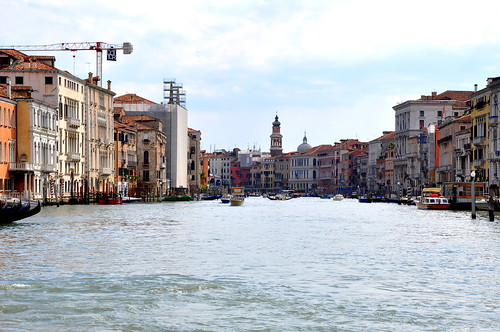Looking down the Grand Canal