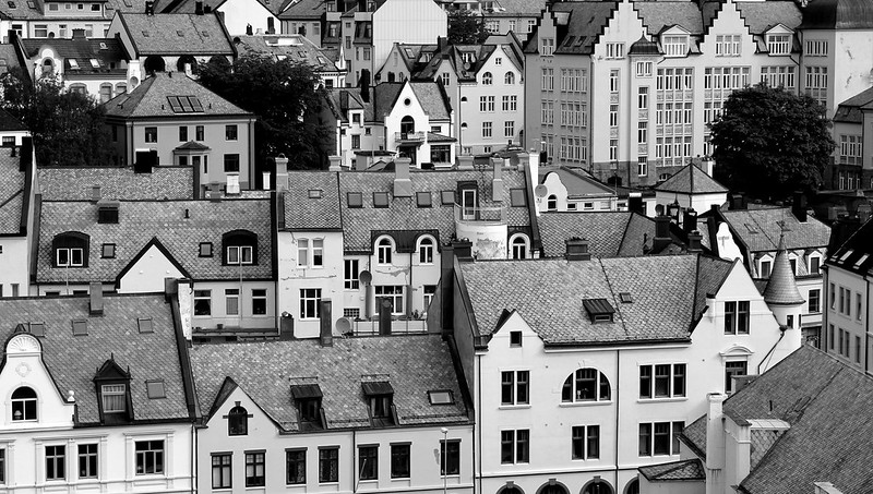 Alesund Monochrome after Denis Thorpe # dailyshoot