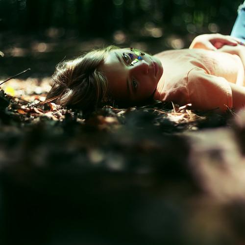 無料写真素材, 人物, 子供  女の子, 人物  森林, アメリカ人