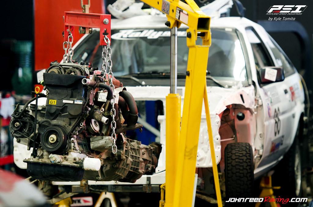 John Reed Rally Corolla - Engine Swap   Kyle Tomita   Flickr