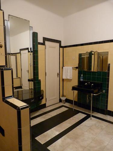 Art Deco Buildings A Bathroom In Rio
