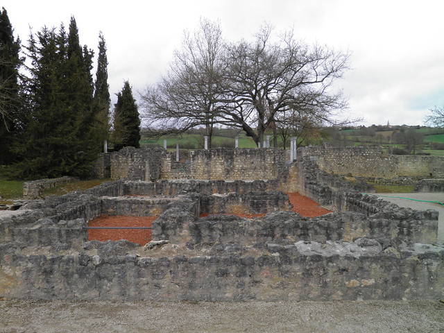 Gallo-Roman villa of Montmaurin, France
