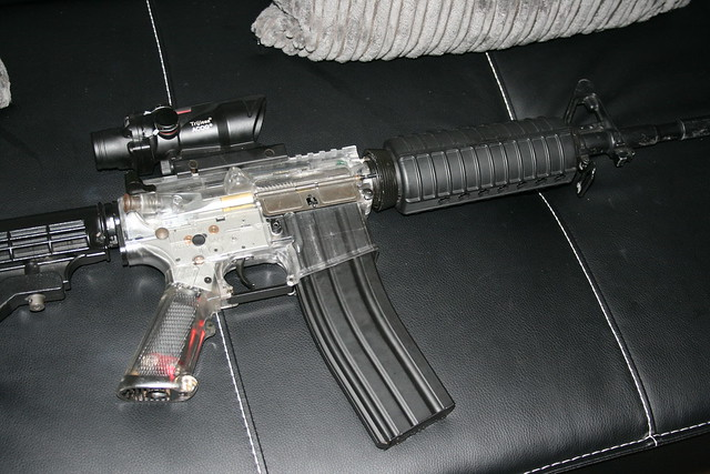 m16 with ACOG site   Flickr - Photo Sharing! M16 Acog