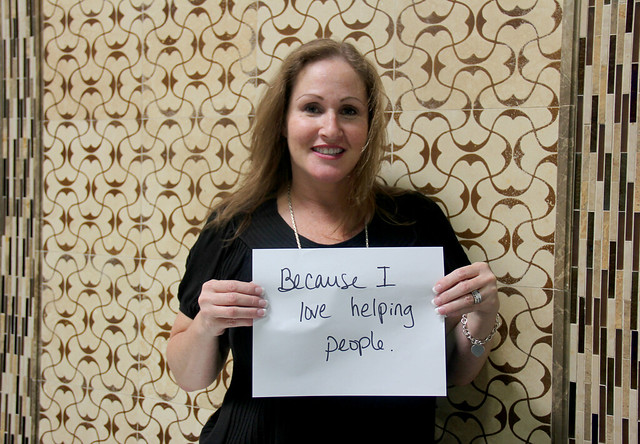 What's Your Why? - Because I love helping people