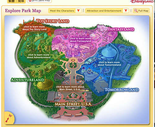 Disneyland HK full map