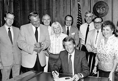 Proclamation Signing by Governor Bruce Babbitt