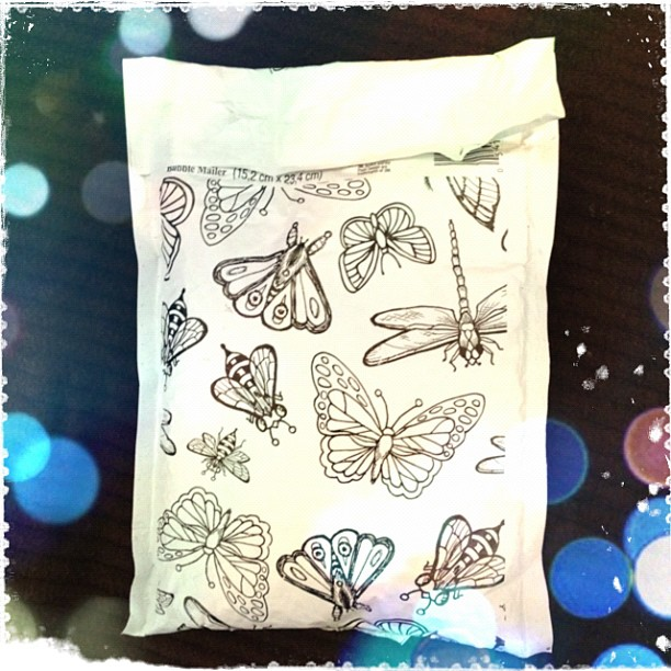 Butterfly Envelope