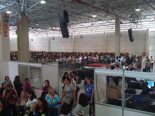 Entrada do público na Mega Artesanal 2012 2012