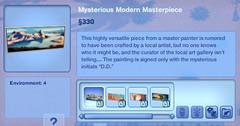 Mysterious Modern Masterpiece