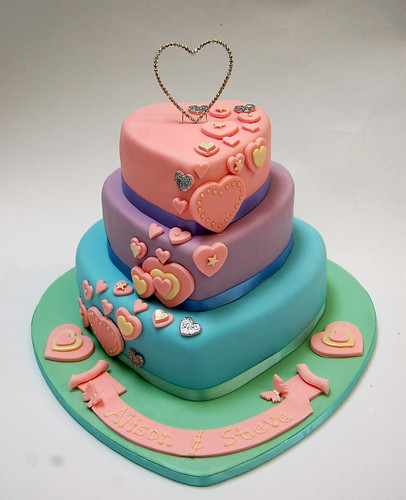 Birthday Cake Pictures Romantic : Romantic Heart Cake   Beautiful Birthday Cakes