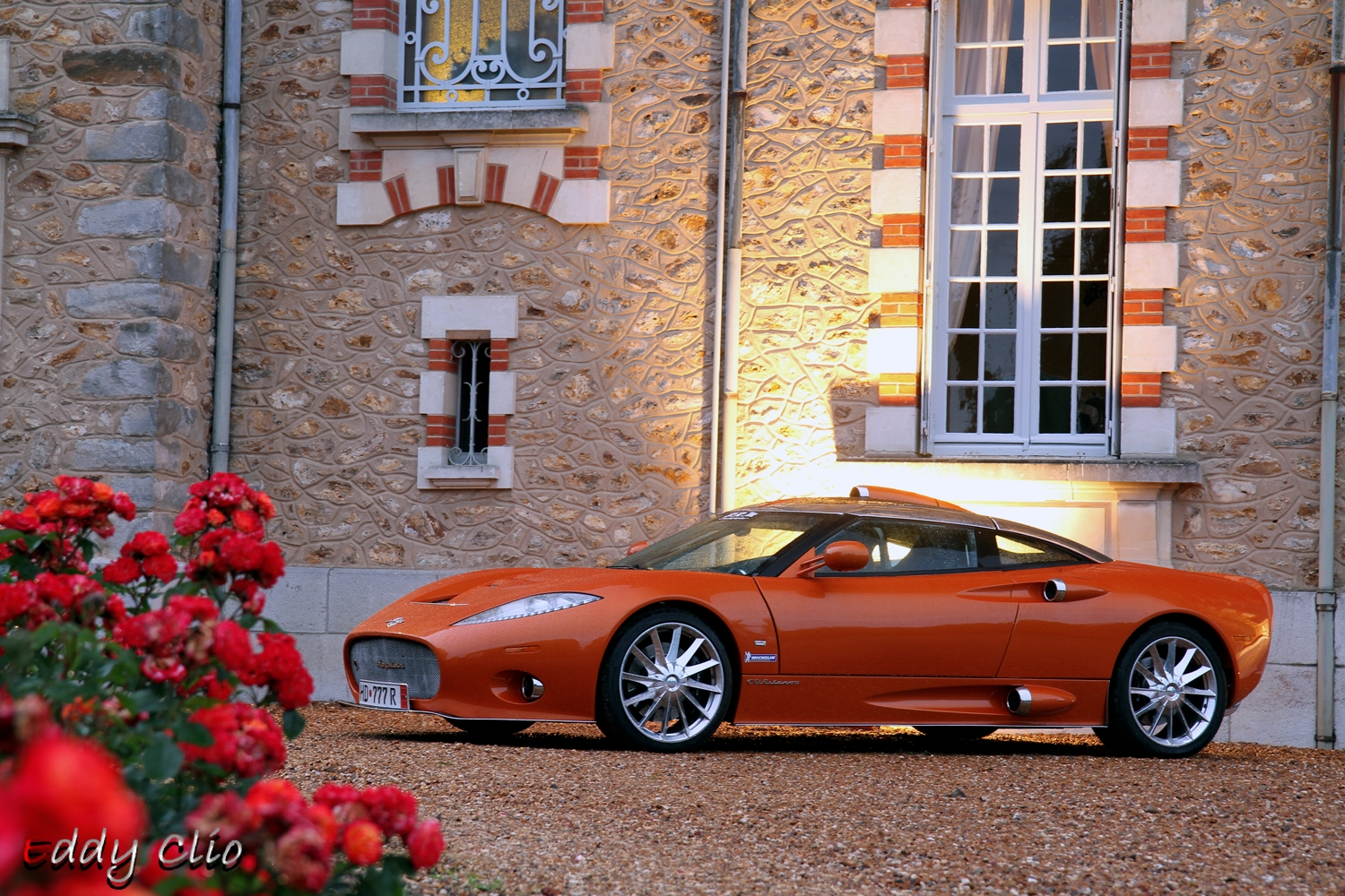 spyker c8 aileron parade des pilotes le mans by eddy clio flickr photo sharing. Black Bedroom Furniture Sets. Home Design Ideas