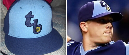 The Throwback Rays Caps You're Buying Are Not The Same As Those Worn On The Field