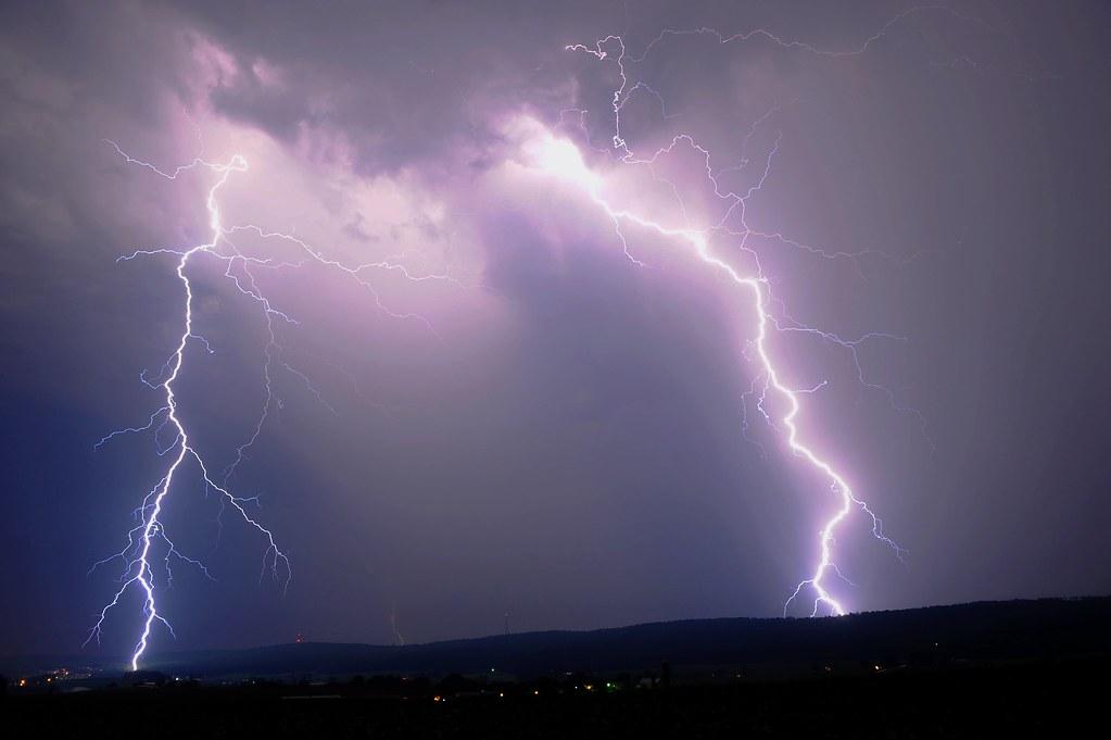 Lightning Strike Morgantown Pa