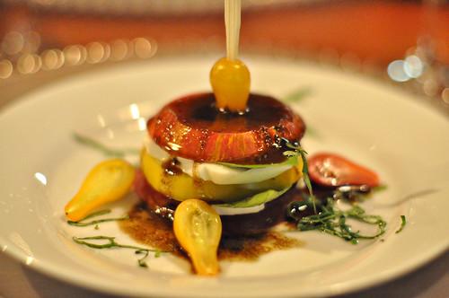 Layered Heirloom Tomato Salad ~ Sonoma, CA