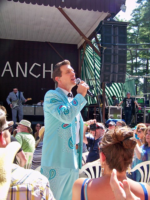Sat, 06/30/2012 - 3:34pm - Chris Isaak at the Indian Ranch in Webster, MA. 6-30-2012