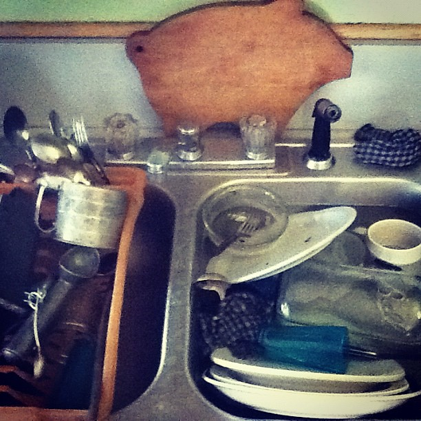 Sink Full of Dishes