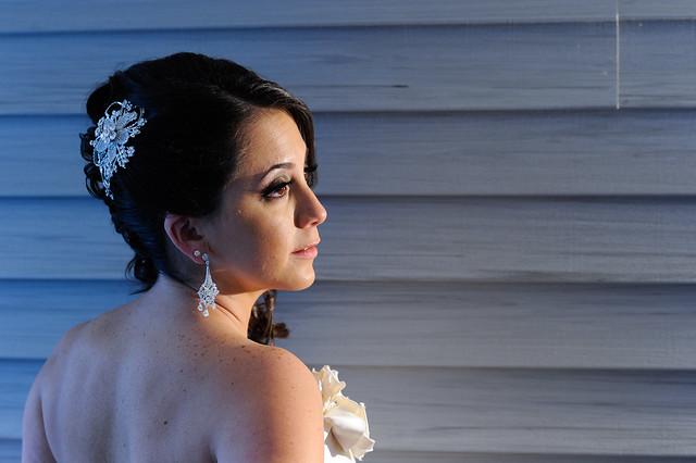 Bridal Styles Bride Shannon, photo - Ricky Restiano Photography