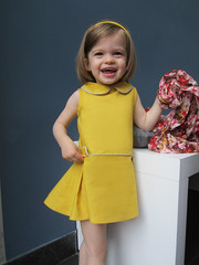 "retro dress from ""Couture Vintage Enfants"""