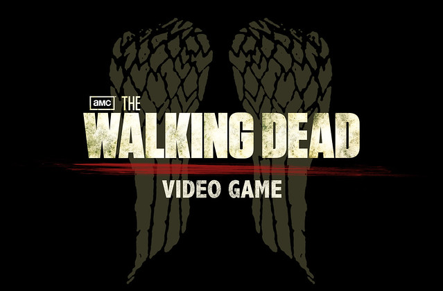 The Walking Dead Logo Black