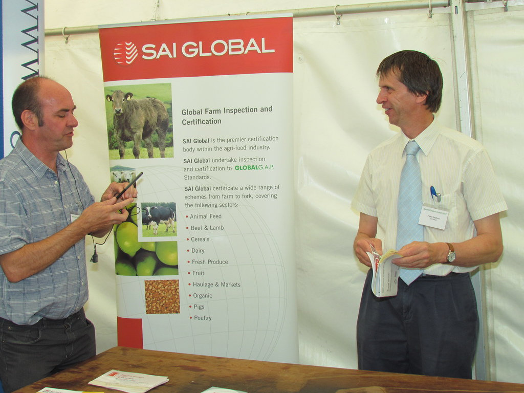 National Organic Cereals 2012 | The SAI Global stand | OF&G | Flickr