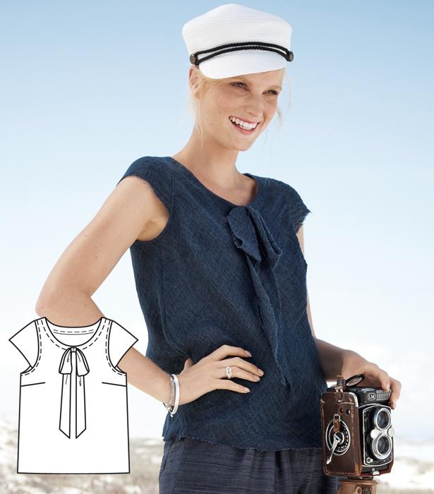 Indigo Summer: 11 New Women\'s Sewing Patterns – Sewing Blog ...