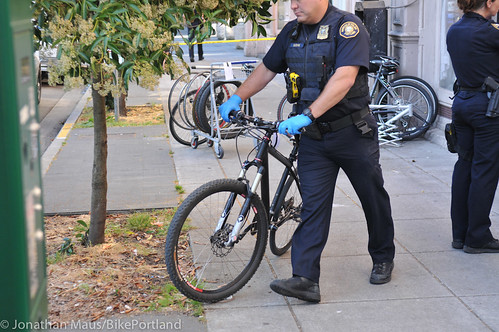 Stolen bikes at drug bust in Old Town-3