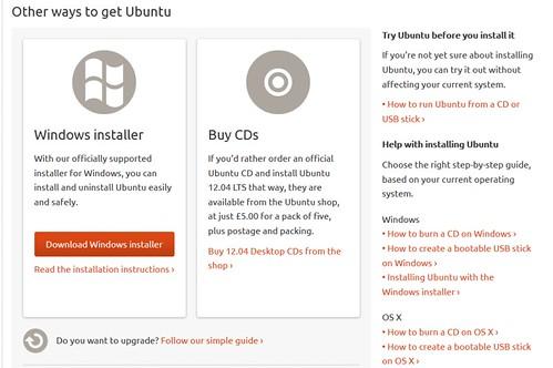 ติดตั้ง ubuntu บน Windows