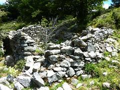Hameau ruiné des bergeries de Chiasolli