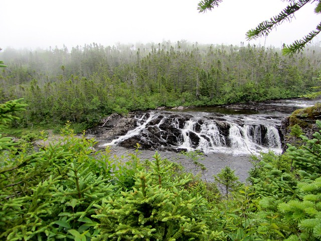Misty Waterfalls in Gros Morne
