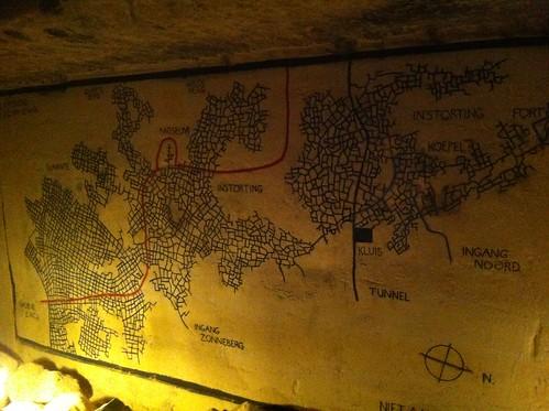 Caves in the St. Pietersberg in Maastricht