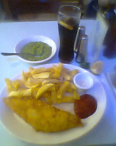 american enlgish fish and chips