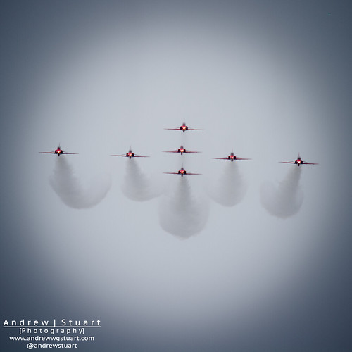 Red Arrows on Approach
