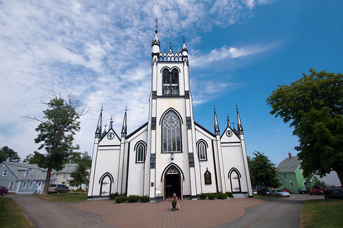 St John's Anglican church, Lunenburg