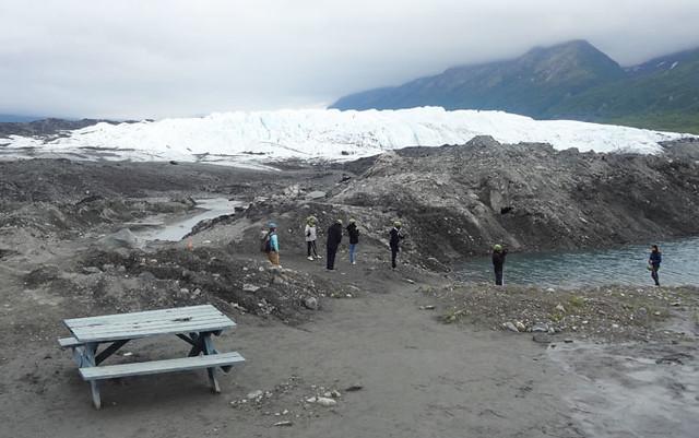 Matanuska Glacier view