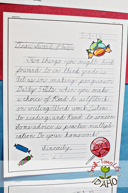 Sample Invitation Letter Year End Party. I created a letter template in Word to match the theme and assigned my 3rd  graders write upcoming third Our Small Town Idaho Life END OF SCHOOL YEAR BULLETIN freebie