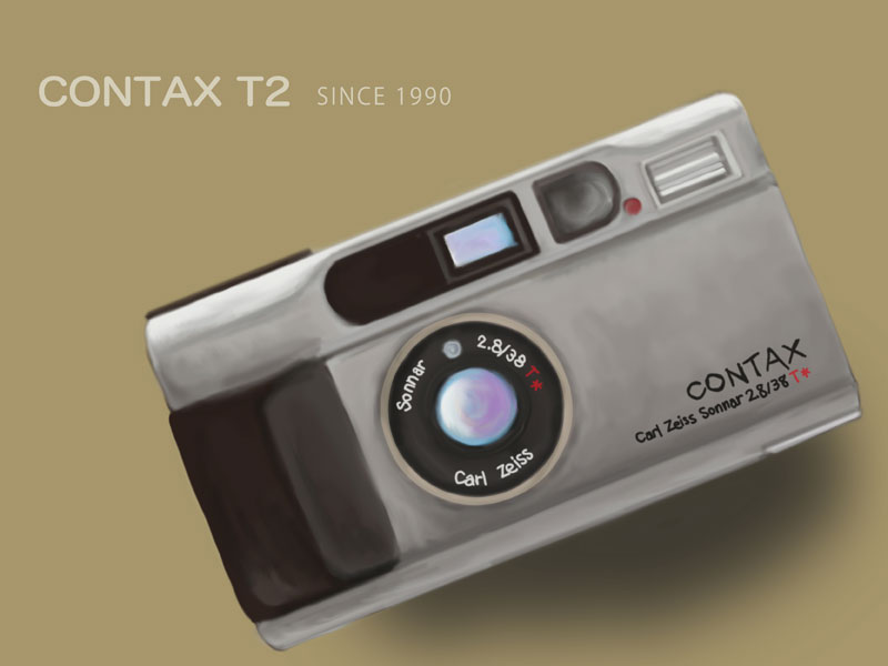 CONTAX T2 Illustration Ver.2