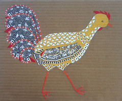 Chicken Collage Day 25 (July 28, 2012) by randubnick