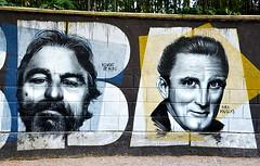 Robert de Niro & Kirk Douglas
