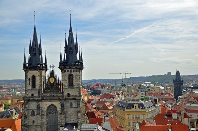 Our Lady of Tyn Church, Old Town Square, Prague