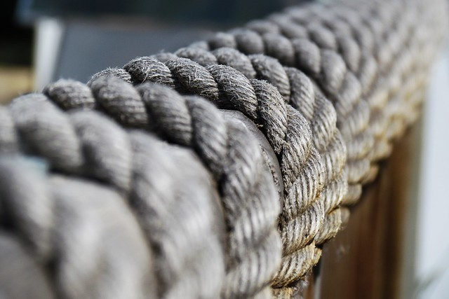 Rope Rail - Selective Focus