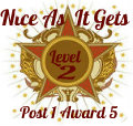 Nice As It Gets Level 2 award