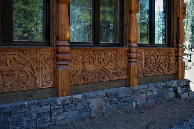 GERMAN Relief Window Carvings