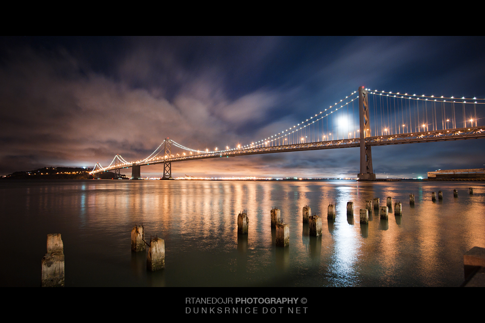 Bay Bridge, San Francisco CA.
