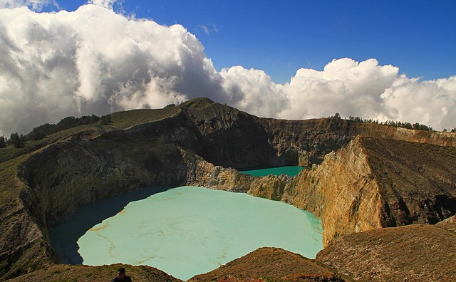 Lake of Kelimutu