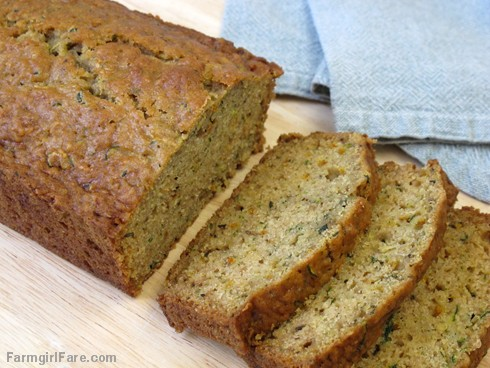 (22-11) Not too savory, not too sweet Lemon Rosemary Zucchini Bread - recipe hopefully coming next week - FarmgirlFare.com