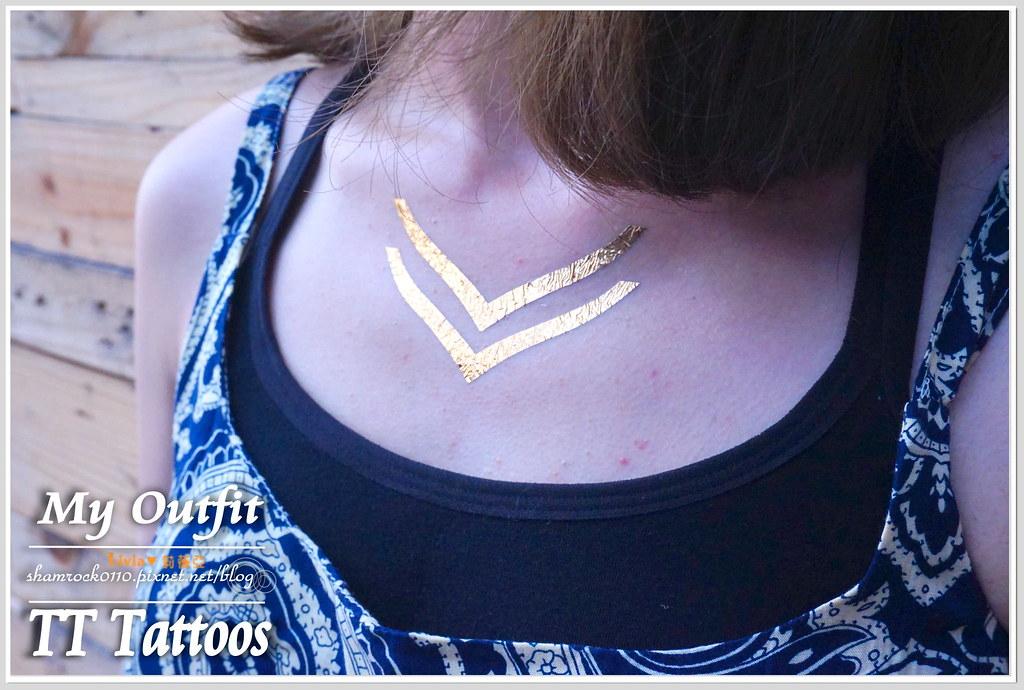 TT Tattoos金屬紋身貼 - 21