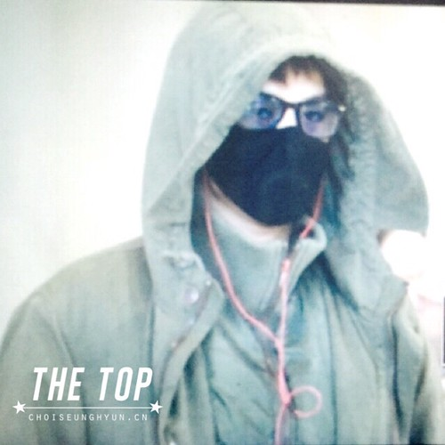 Big Bang - Incheon Airport - 10apr2015 - TOP - The TOP - 03