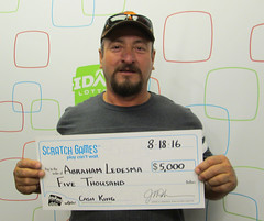 Abraham Ledesma - $5,000 Cash King